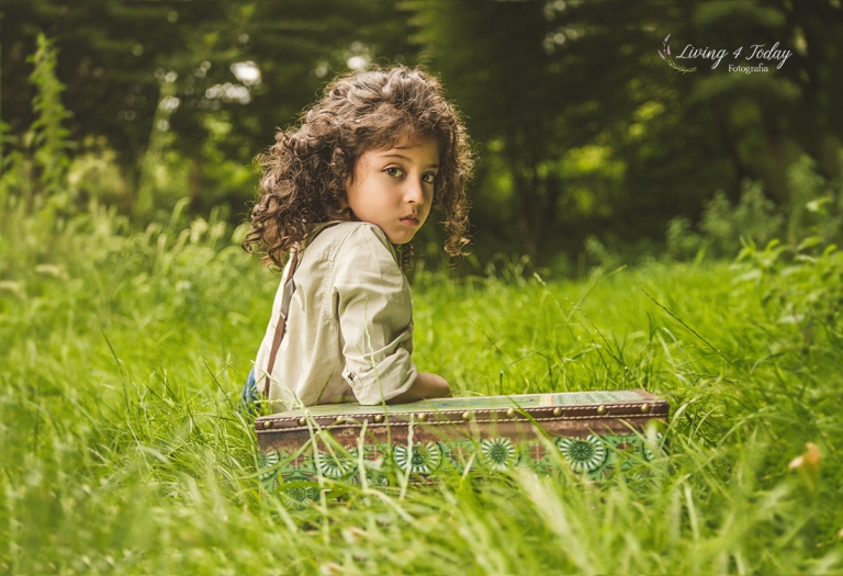 Las sesiones infantiles en exterior se hacen desde la primavera hasta el otoño.
